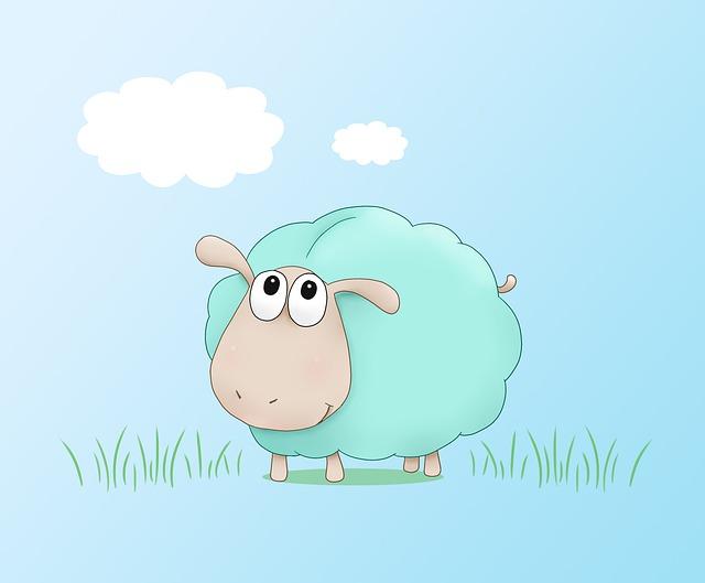Смешные овечки в рисунках, открытки деда