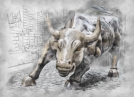 Bull, Statue, Symbol, Animal, Finance