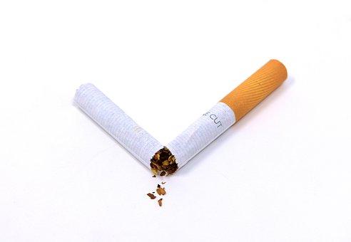 Cigarette, Broken, Unhealthy, Smoking