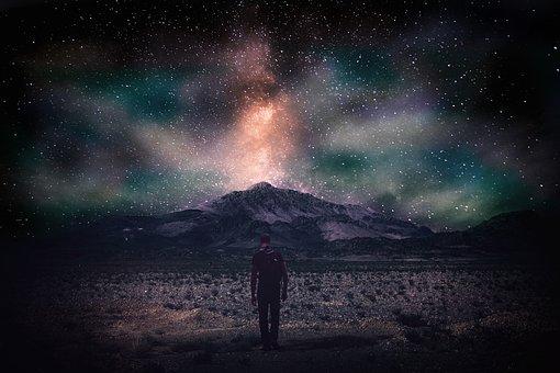 Sky, Astronomy, Moon, Landscape