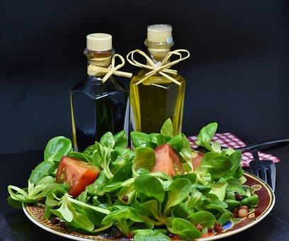 Lamb'S Lettuce, Arugula, Bacon, Oily Foods