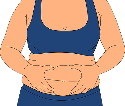 Obesidad, Gordura, Michelines, Glotón