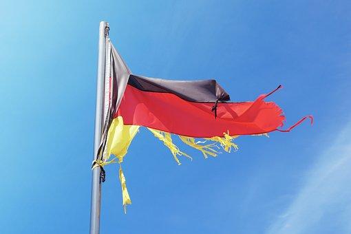 Deutschland, Flagge, Fahne