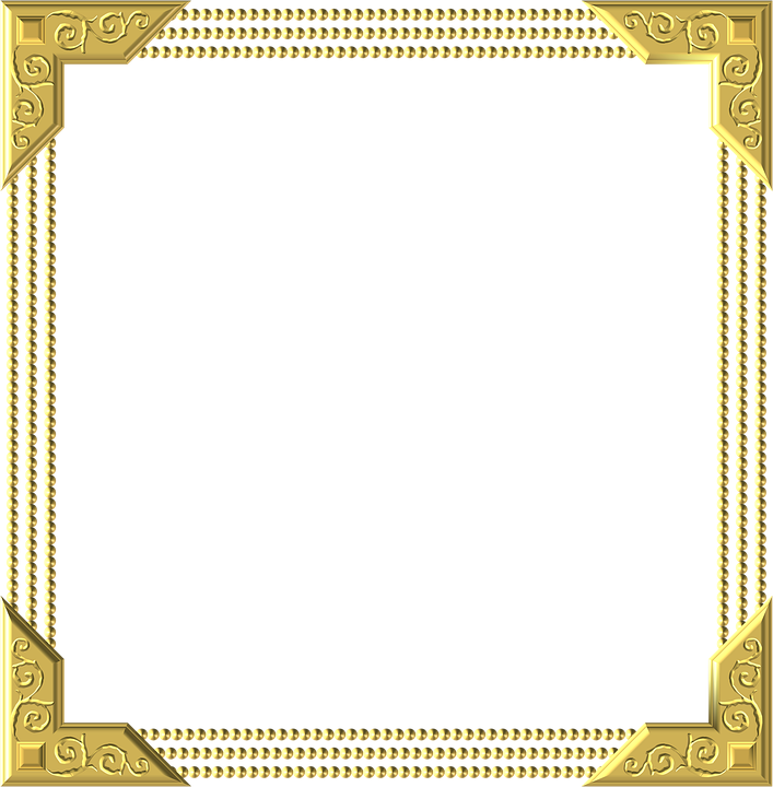 Gold Frame Square · Free image on Pixabay