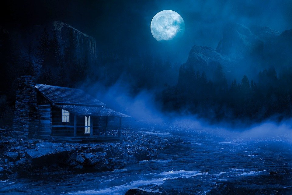 night good house free photo on pixabay