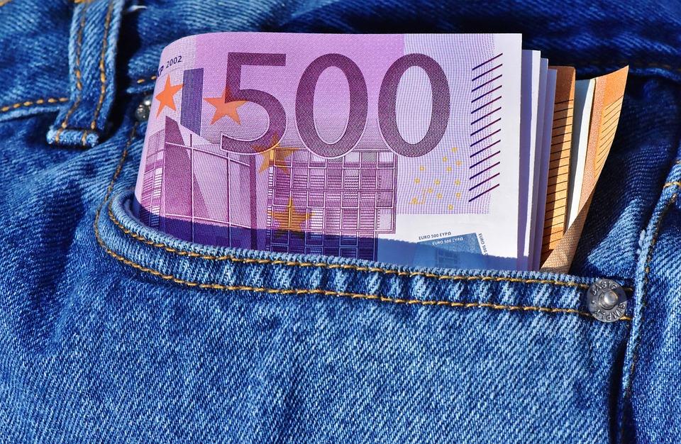 お金、ドル紙幣、紙幣、現金および現金相当物