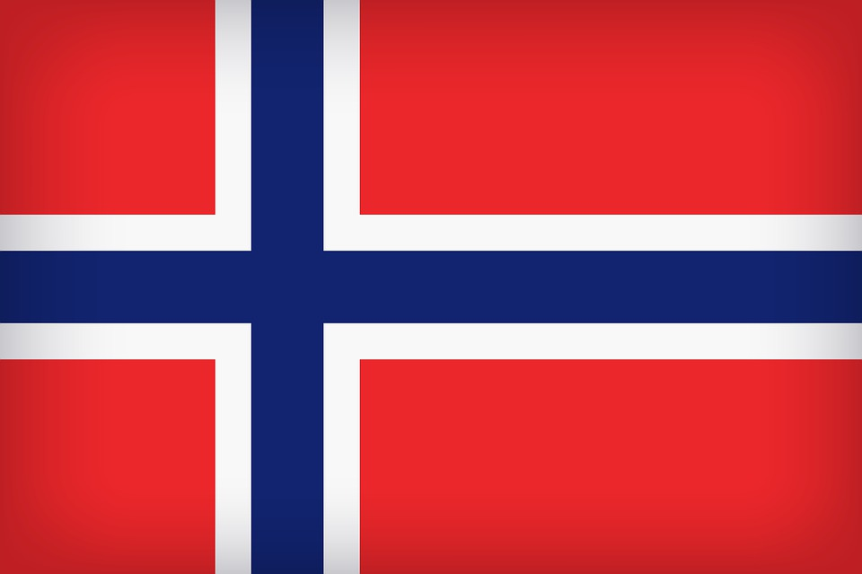Flag Of Norway, Flag, Background, Backdrop, Norway