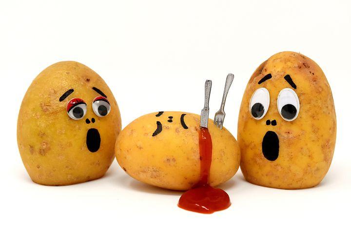 Новый, прикольные картинки картошка