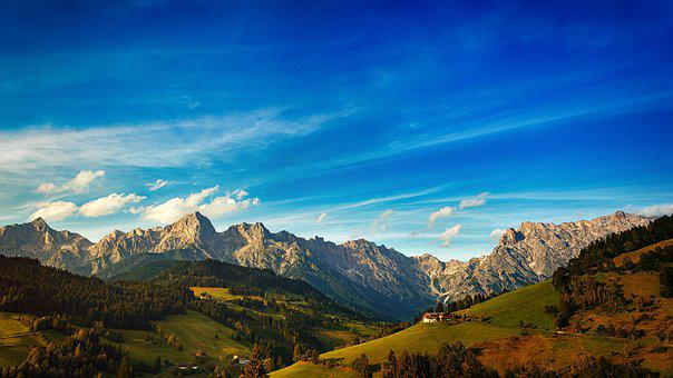 Berg, Panorama, Natur, Reise, Himmel