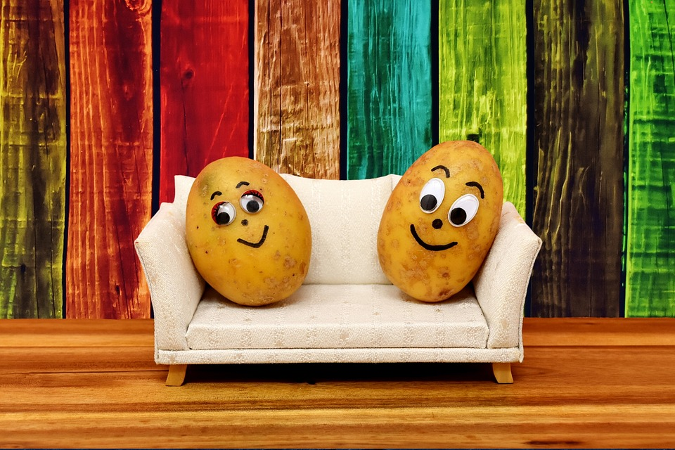 Couchpotatoes lustig kartoffeln kostenloses foto auf pixabay for Couch lustig