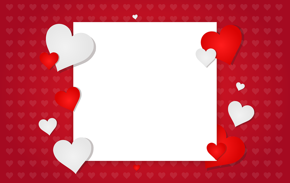 Valentines Day Background Free Vector Graphic On Pixabay