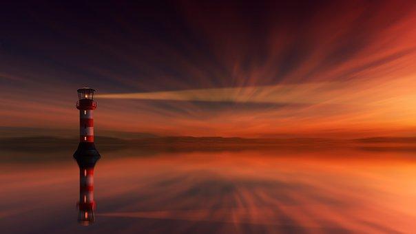 Ηλιοβασίλεμα, Φάρος, Αυγή, Σούρουπο