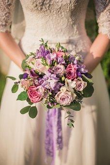 Flower, Bouquet, Wedding, Lovely