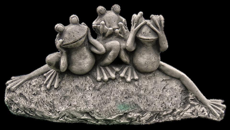 Bon Frog Figure Frogs Ceramic Garden Figurines