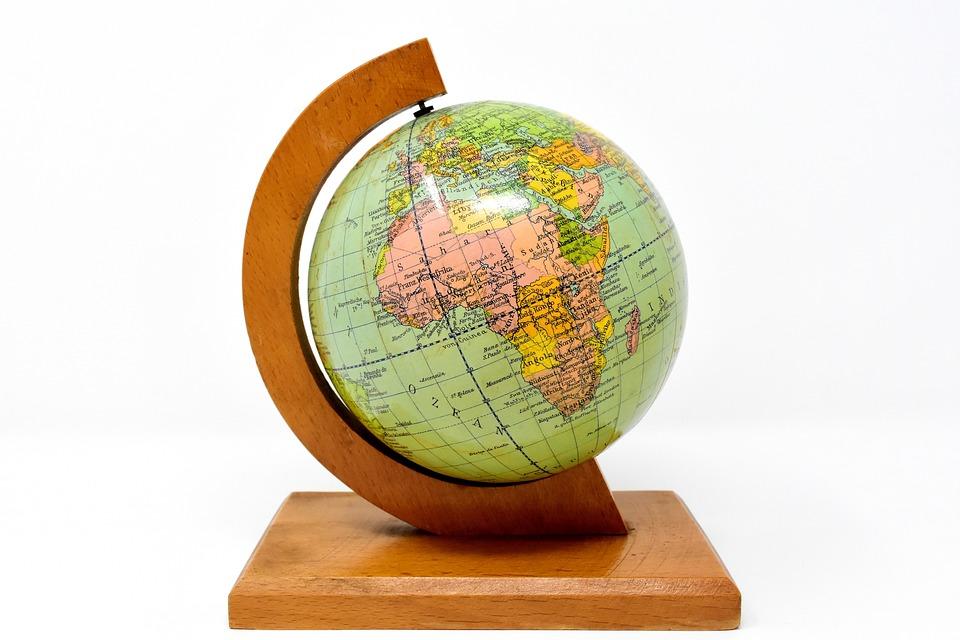 weltkugel globus malen  globus
