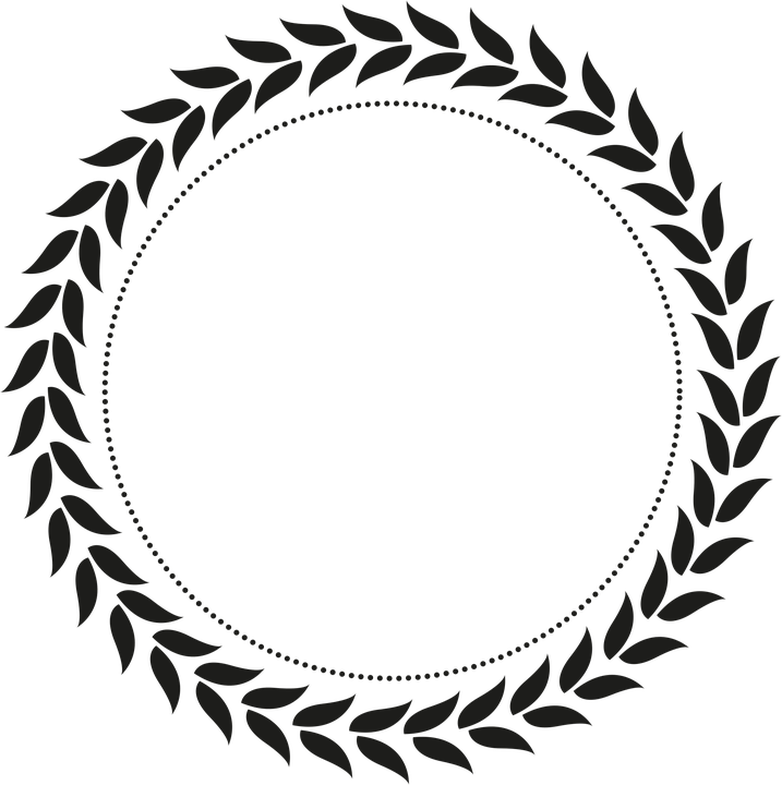 wreath leaf leaves free vector graphic on pixabay