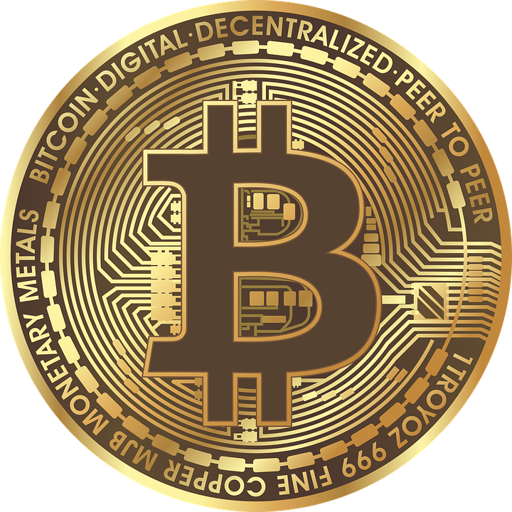 Bitcoin Blockchain Currency Coin Gold
