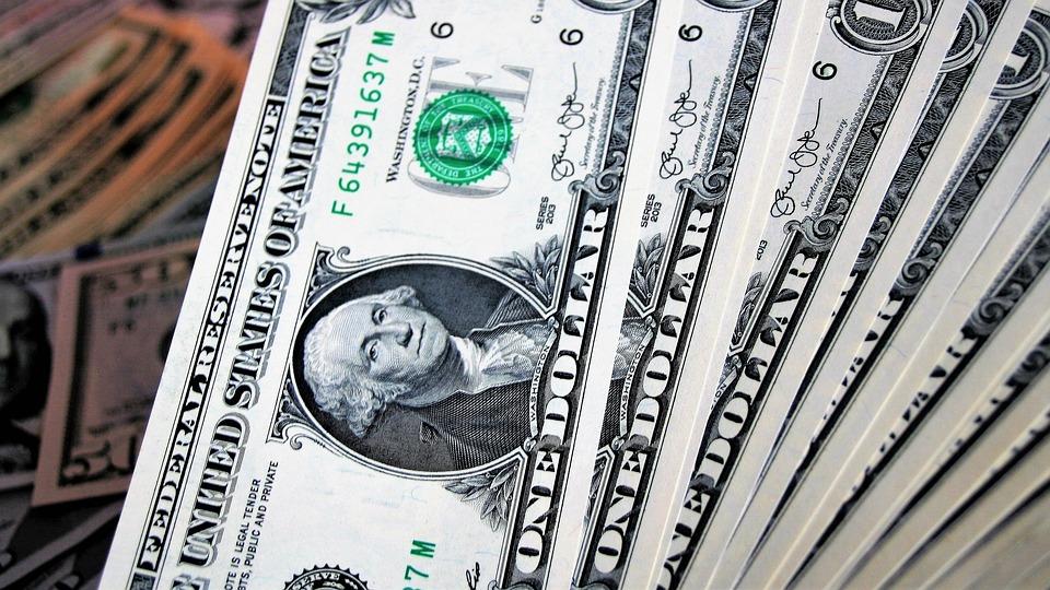 Dollaren, De, Business, En Mengde, Valuta, Økonomi