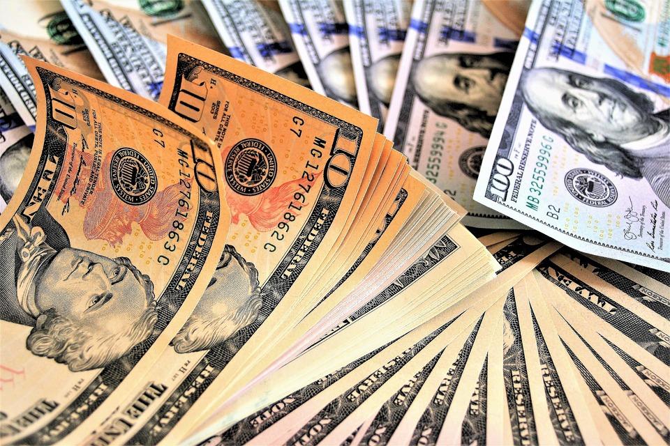 Kasa, Para, Dolar, Para Birimi, Zengin Bir, Finans