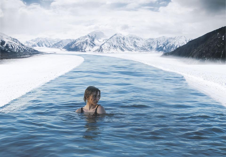Sne, Vand, Vinter, Natur, Udendørs, Kold, Rejser