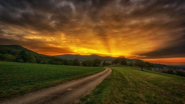 Nature Sunset Sky · Free photo on Pixabay