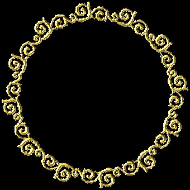 Oro Marco Ronda 183 Imagen Gratis En Pixabay