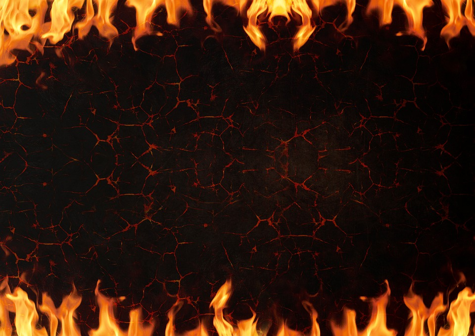 Fire lava background free photo on pixabay fire lava background burns flame rock metal voltagebd Images