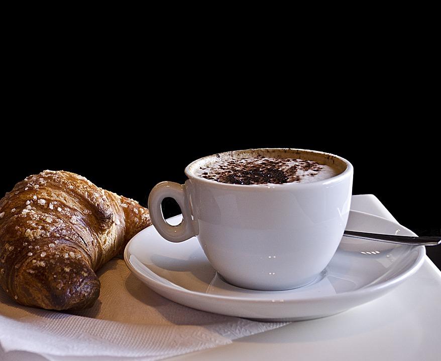 Kaffeemaschine Eine Person