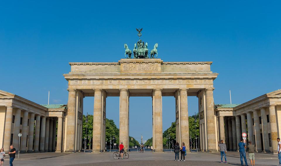Architecture, Pillar, Monument, Brandenburg Gate