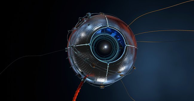 Satélite, Olho, Relógio, Óptica, Espaço