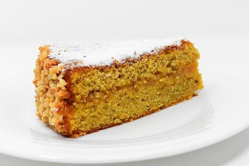 蛋糕, 胡萝卜蛋糕, 美味, 吃, 糕点, 甜, 食品, 甜美, 营养, 甜食