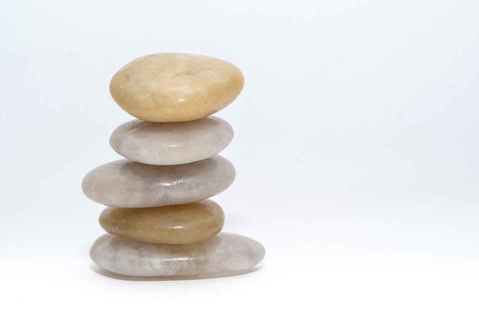 バランス, 石, 小石, ウェルネス, サウナ, 療法, 自然, リラックス, スタック, ハーモニー, 禅