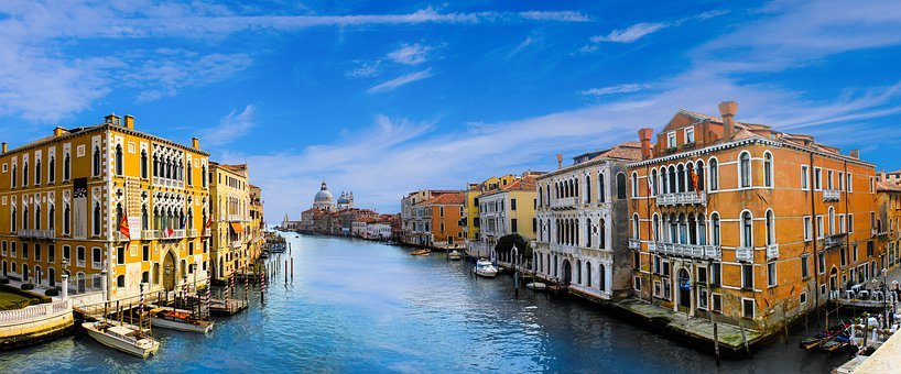 Venice, Architecture, Channel, Water