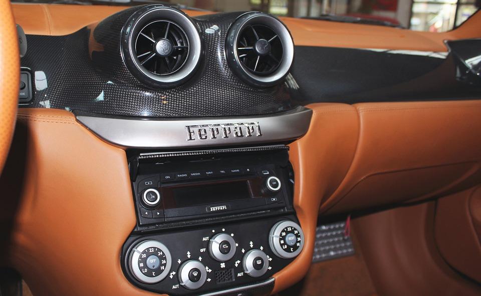 Ferrari Dashboard Auto Kostenloses Foto Auf Pixabay