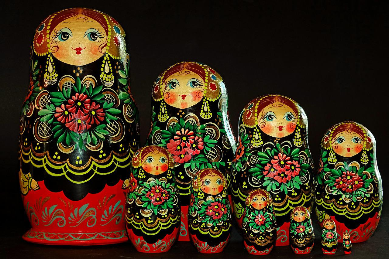Ornament Matroesjka Baboesjka - Gratis foto op Pixabay
