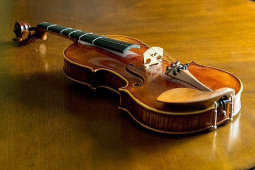 Madera, Arqueado Instrumento De Cuerda