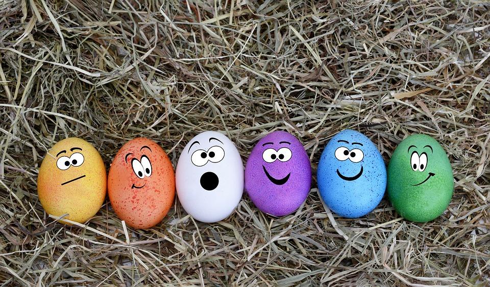 Ostereier, Ostern, Eier, Osterfest, Dekoration