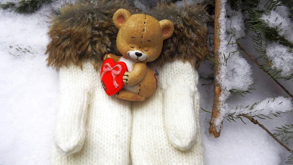 Winter cold snow free photo on pixabay winter cold snow nature the mascot teddy bear altavistaventures Images