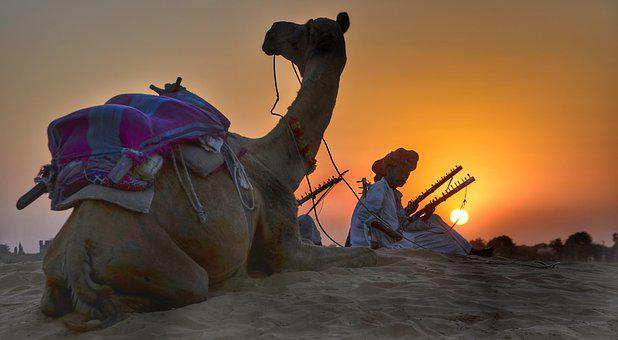 Rajasthan, Camel, Safari, Trekking