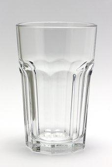 ガラス, クリア, 結晶, 水のガラス