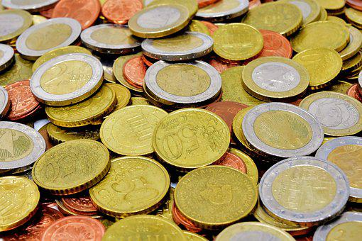 Monedas, Dinero, Moneda, Euro, Metálico