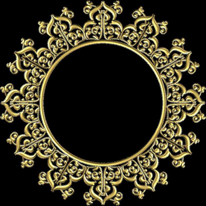Gold Frame Round · Free Image On Pixabay