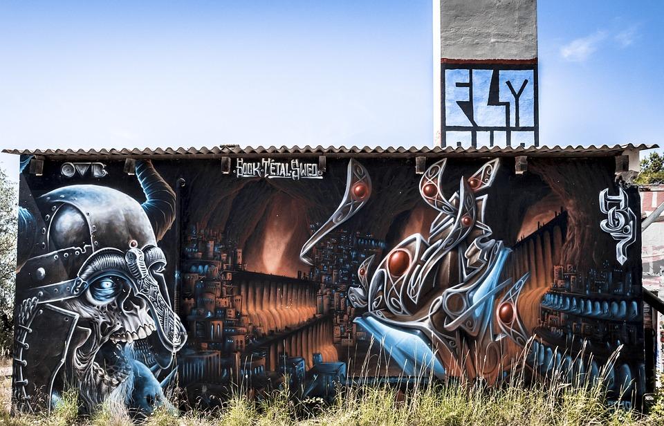 Tag Urbex Graffiti Abandoned Urban Artistic