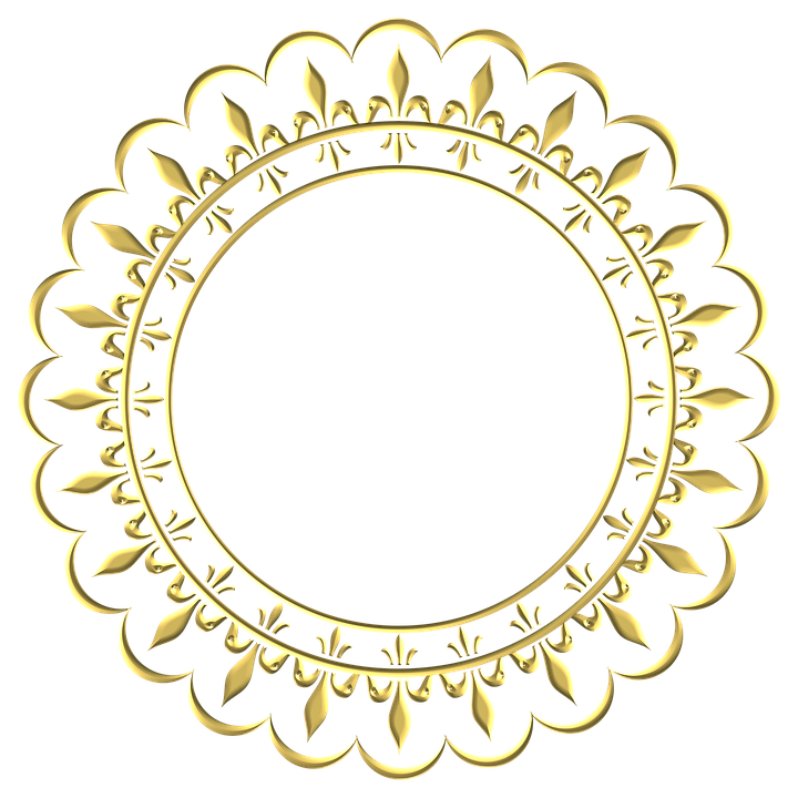 Gold Frame Round 183 Free Image On Pixabay