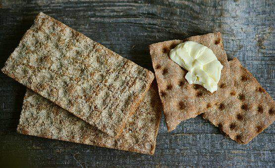 Knäckebrot, Brot, Knusprig, Lebensmittel