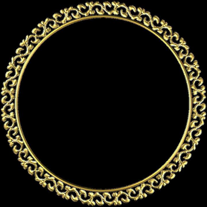 Gold Rahmen Runde · Kostenloses Bild auf Pixabay