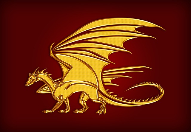 Dragon Gold Coat Of Arms 183 Free Image On Pixabay