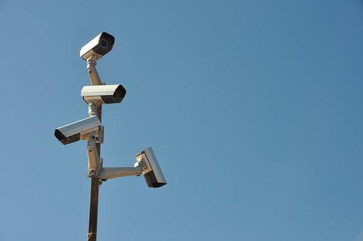 Surveillance Camera, Mast