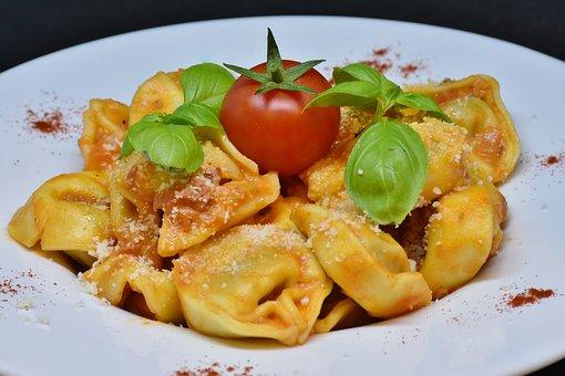 Tortellini, Noodles, Pasta, Italian, Eat