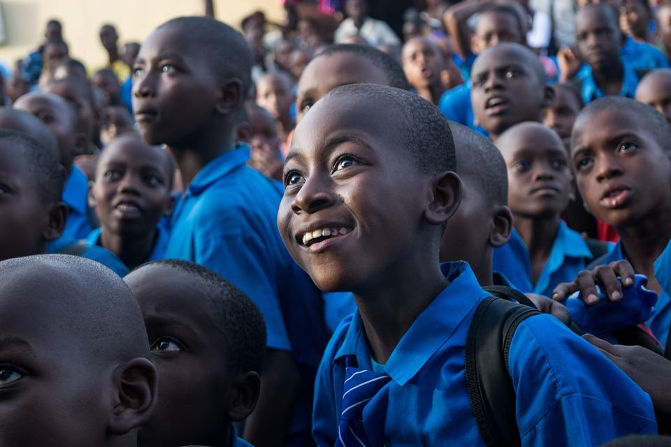 People, Group, Children, Boy, Education, Africa, Kenya